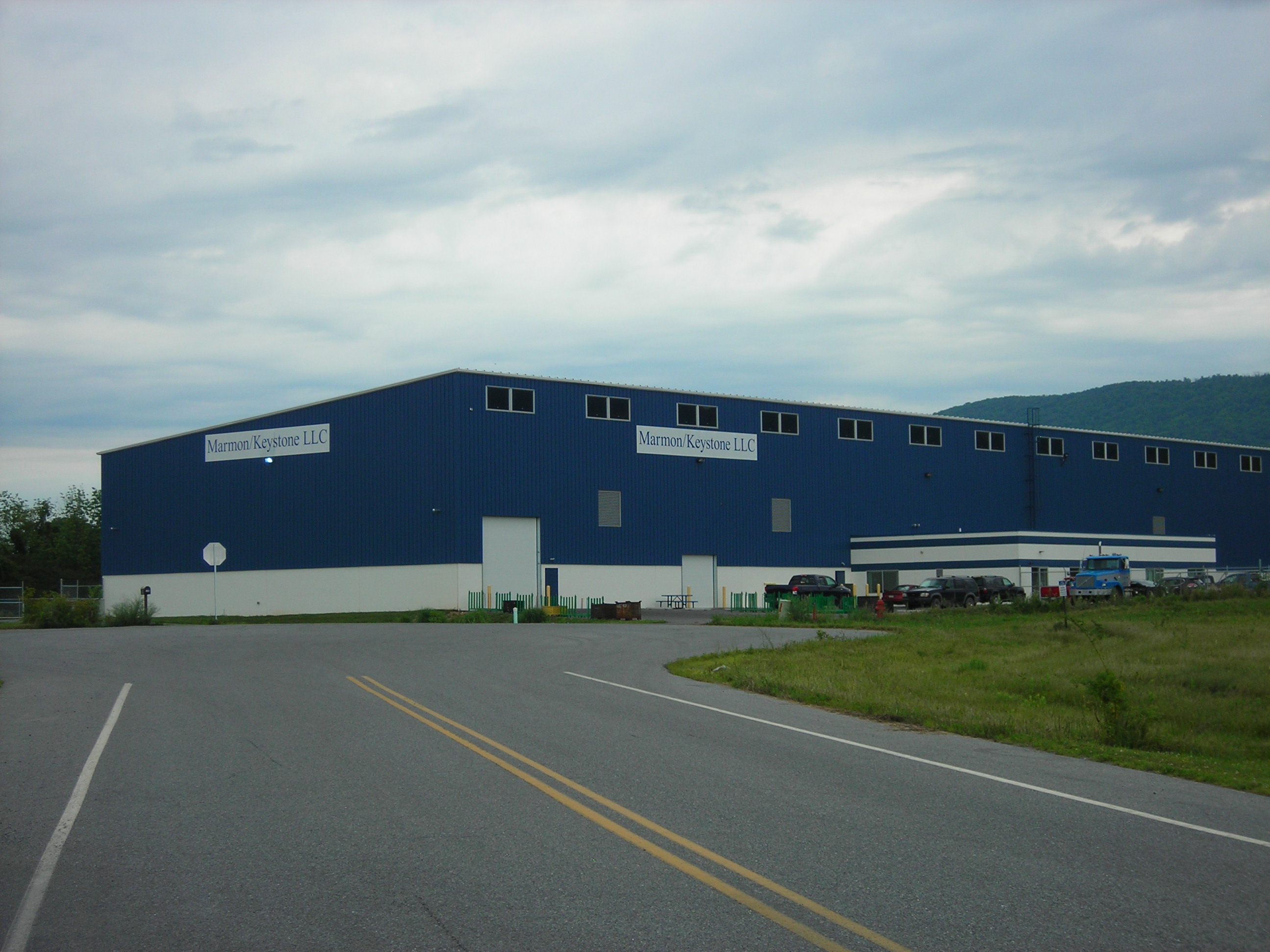 Marmon-Keystone LLC, a manufacturing industry located on Lot 17